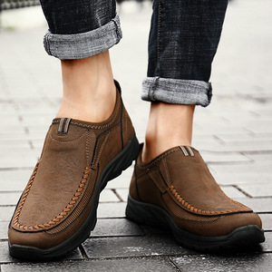 Image 5 - Luxury Casual Shoes Men Flats Slip On Loafers Breathable Shoes Male Shoes Adult Sapato Masculino Plus Size 38 47 Chaussure Homme