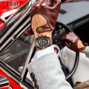 Image 5 - IBSO メンズ腕時計防水腕時計 2019 クリエイティブスカル腕時計クォーツ腕時計ハロウィン男性腕時計時計ギフト