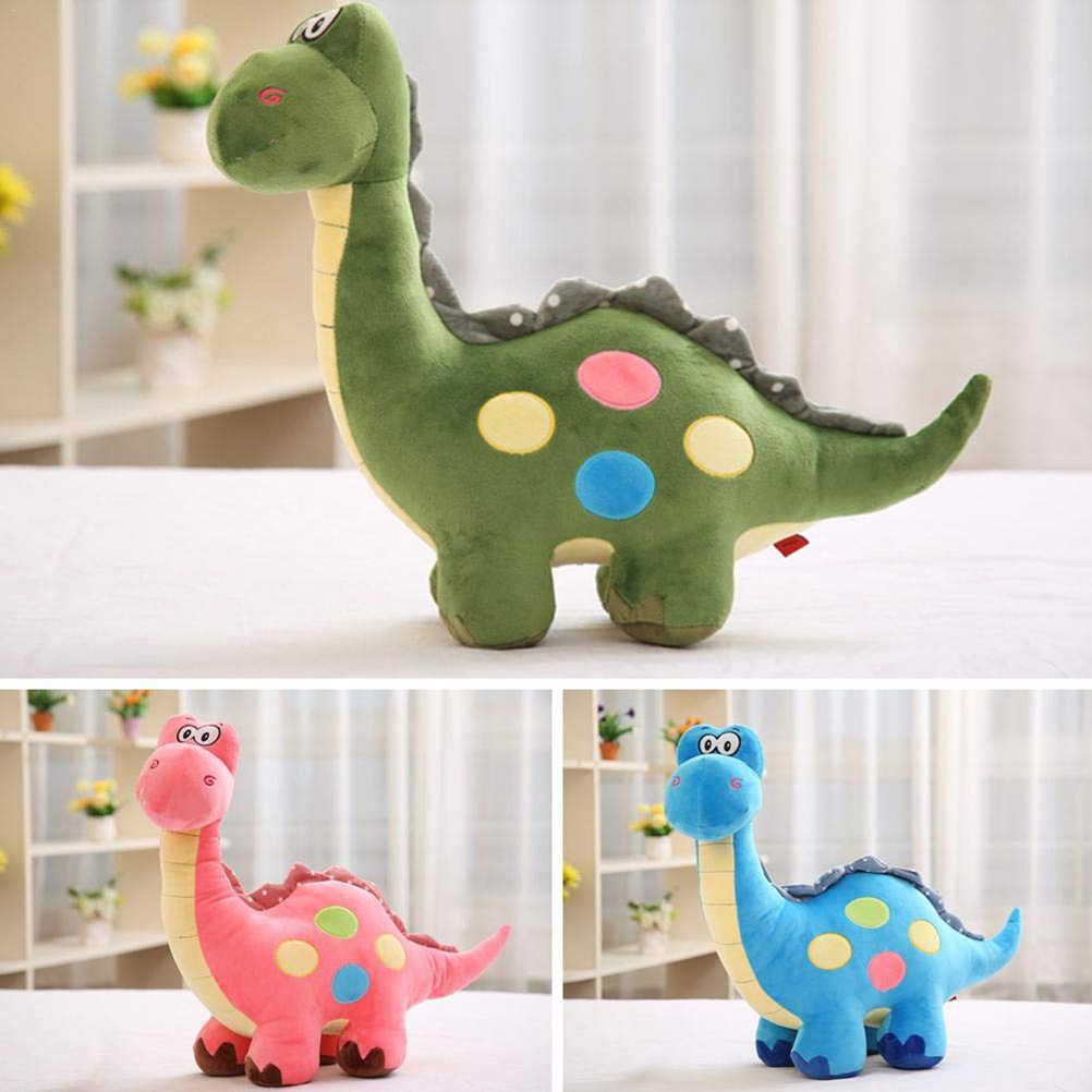 25CM dinosaurio de peluche juguetes lindo dinosaurio de dibujos animados de peluche muñeca animales juguetes suaves muñecas para niños juguete de regalo para cumpleaños