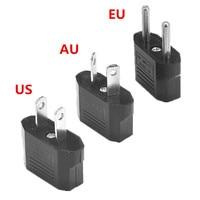 500pcs AU US EU European Power Adapter 2 Pin Australia Travel Adapter Outlet AC Converter Electrical Plug Charger Sockets