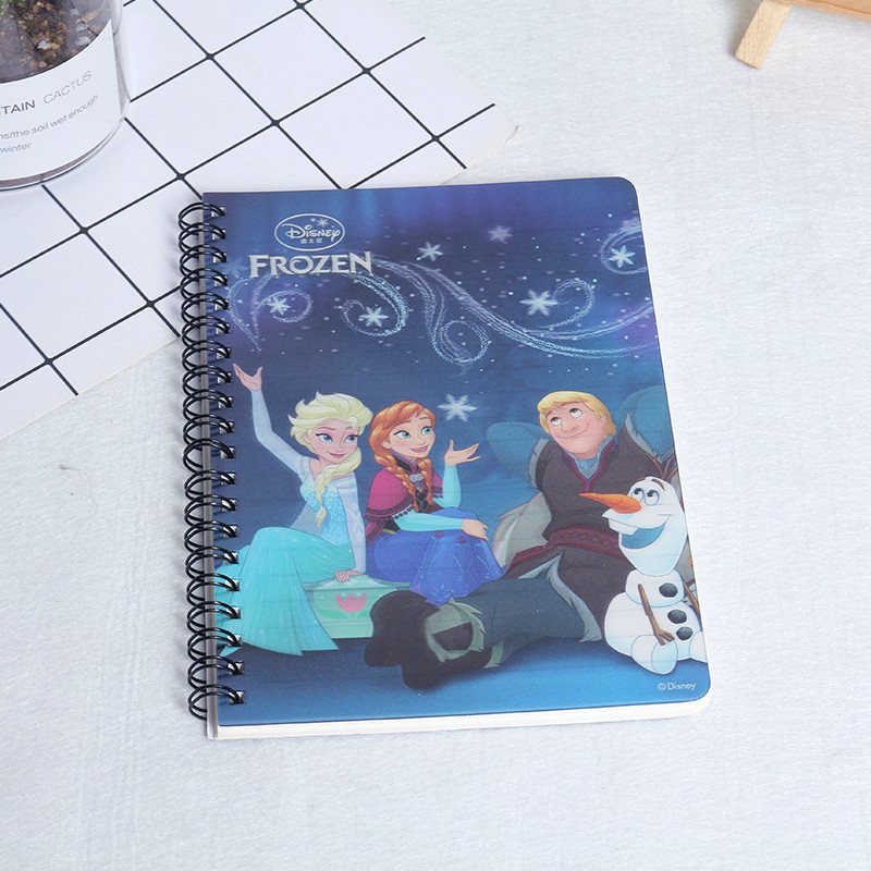 Frozen Cute Cartoon Notebook Elsa Anna Writing Painting Supplies Student School Supplies Cute Notebook