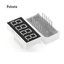 10 PCS/Lot LED Display Module 1/2/3/4 Digit Digital Tube 0.36 Inch Cathode and Yang Highlight Red Display Tube Ti Cmos