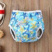 Летние купальные подгузники, штанишки для подгузников, многоразовые регулируемые для младенцев, маленьких мальчиков и девочек