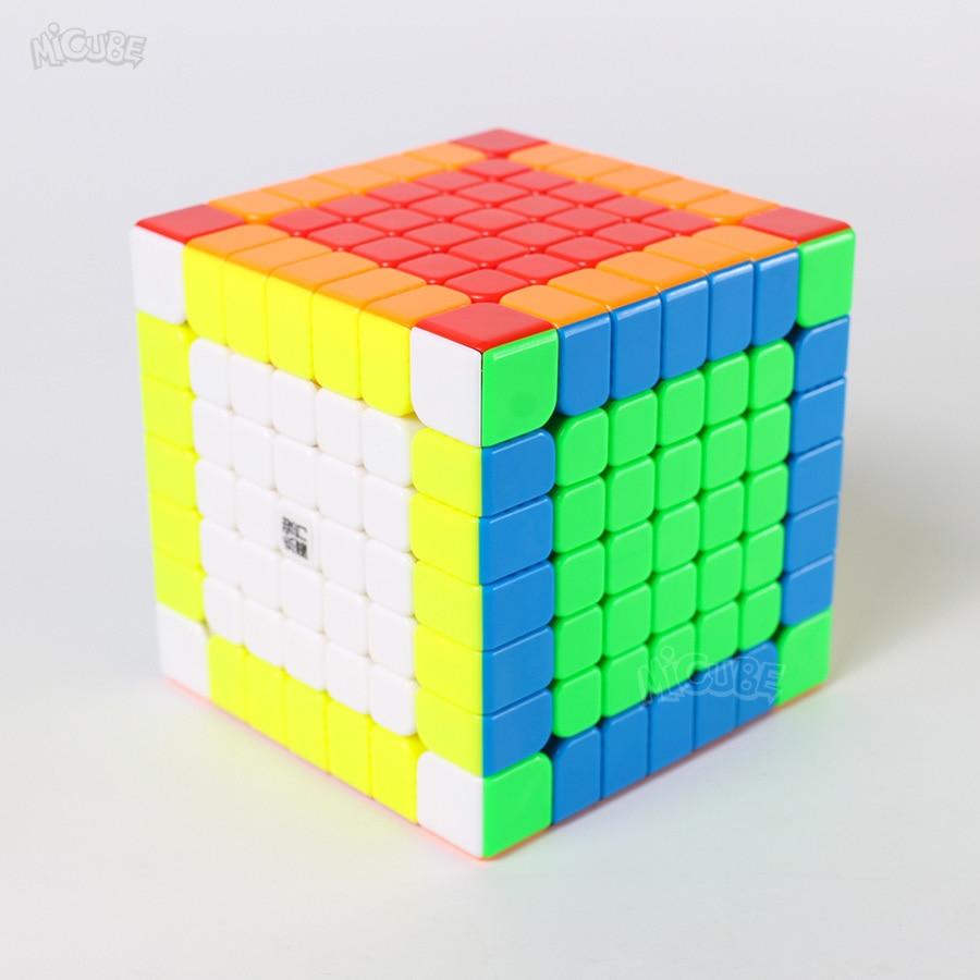 7x7x7 Yongjun Enigma Cube Cubo Magnético Ímã