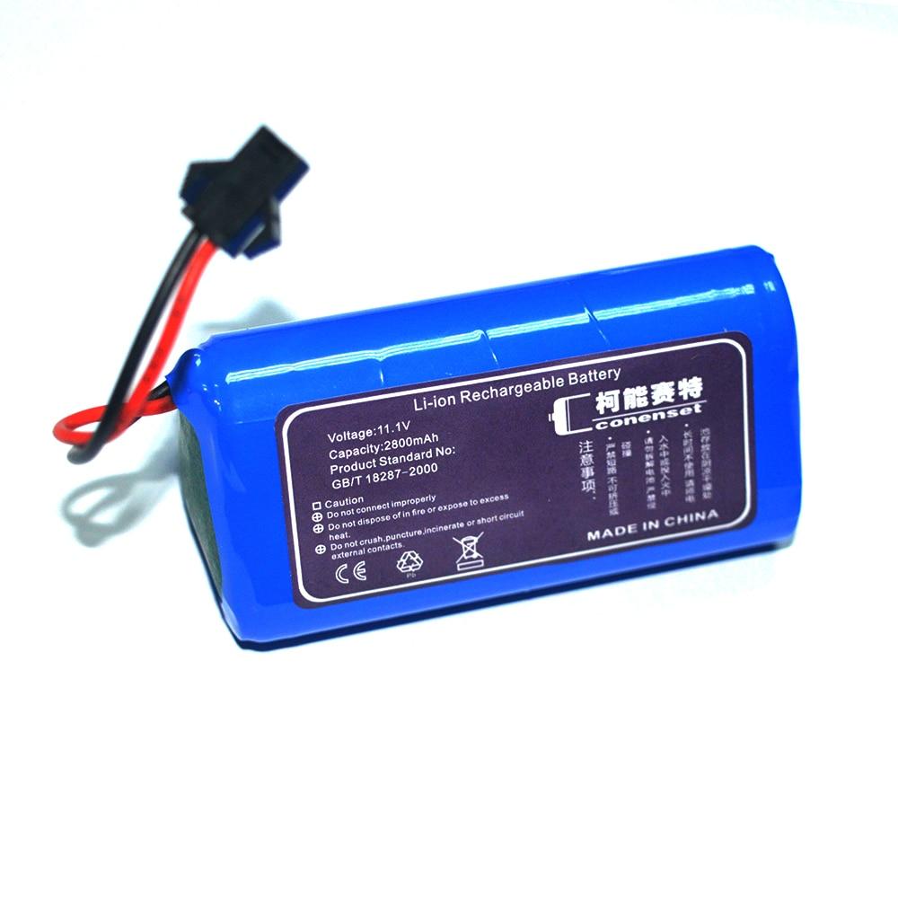 11,1 V 2800mAh запасная батарея для Conga Wet / Conga Slim 890 Wet Robot Vacuum Cleaner