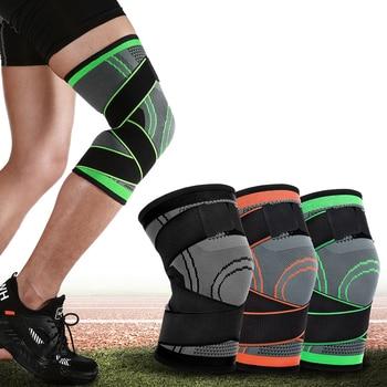 1pcs Sport Knee Pads Elastic Bandage Support Protector Kneepad braces arthritis Running Basketball Volleyball rodilleras