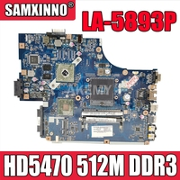For Acer aspire 5741 5741G 5742 5742G Laptop motherboard NEW70 LA-5891P HM55 HD5470 512M DDR3 100% full Tested