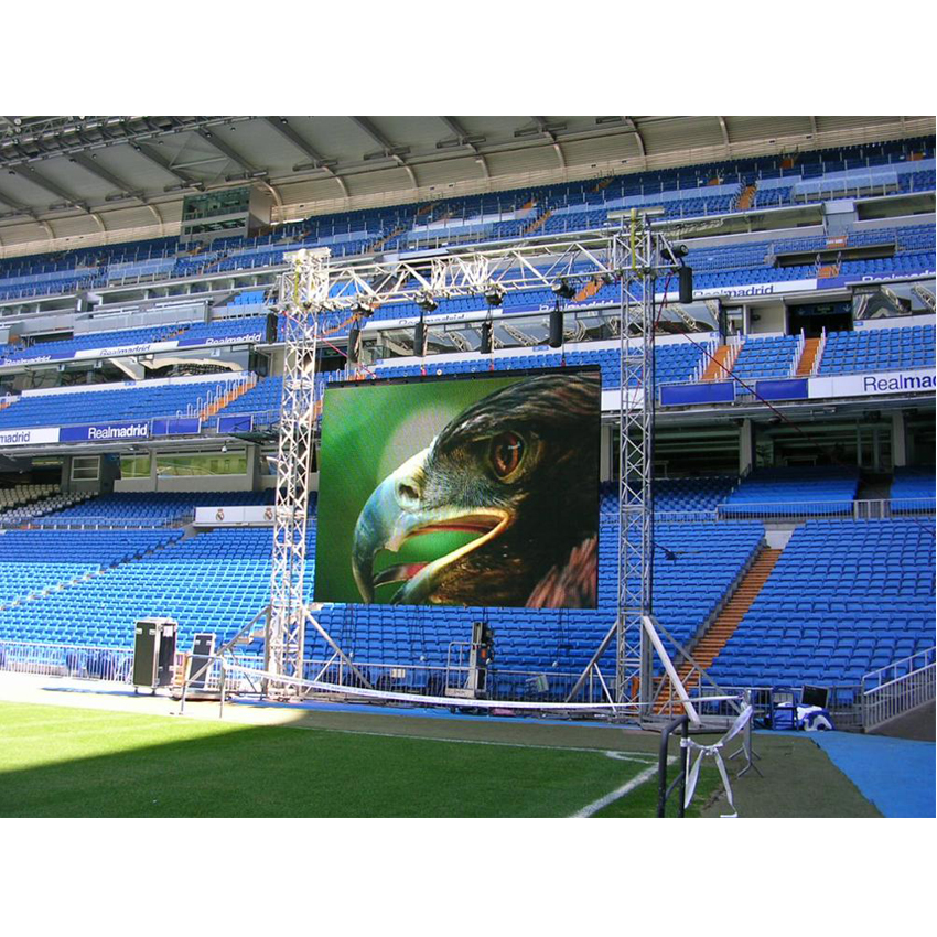 P3.91 500x500mm 128*128dots SMD1921 Outdoor Die Cast Aluminum Cabinet RGB LED Display For Advertising Video Wall Led Screen