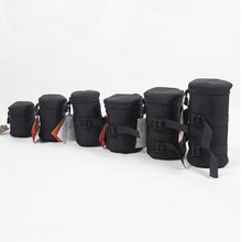 Shockproof Lens Barrel Bag For DSLR SLR Pouch Portable Weather-Resistant Anti-Scratch Camera