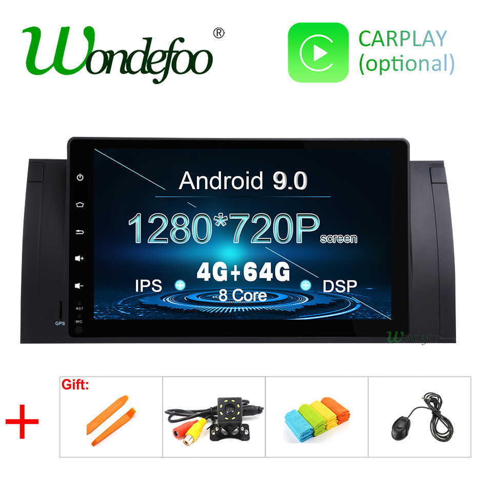 DSP ips Android 9,0 4G 8 CORE 64G Автомобильный gps для BMW X5 E53 1999-2006 E39 1995-2003 M5 gps радио мультимедиа без dvd плеера