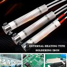 1шт 220В 30Вт 80Вт 100Вт паяльника основной нагревательный элемент замена сварки металлообработки инструмент вспомогательное оборудование для электронных любителей