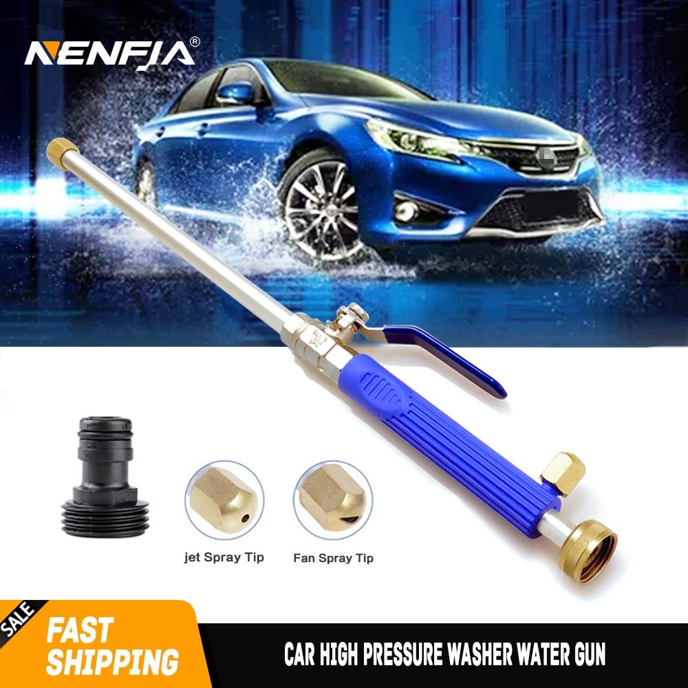 Car High Pressure Washer Water Gun Power Jet Washer Spray garden Nozzle Water Hose Wand Attachment DropShip Auto Clean Gun Tool