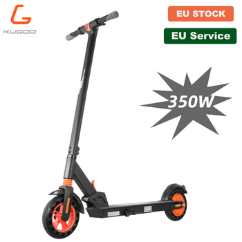 [Official Store] KUGOO KIRIN S1 Folding Electric Adult Scooter 350W APP Control Electric Skateboard Honeycomb tire e Scooter