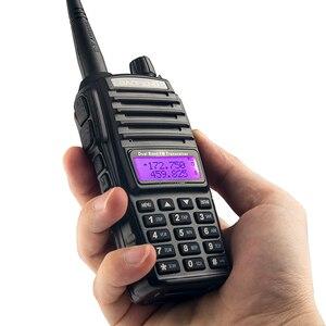 Image 5 - 4 Stuks Baofeng UV 82 Walkie Talkie 5W 8 W U/V Baofeng Uv 82 Headset Walkie Talkie 10 Km Baofeng UV82 8 Watt Radio Uv 9r Ham Radio