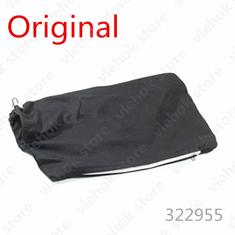DUST BAG BLACK For HITACHI C12FCH C8FSHE C8FSE C12RSH C12LSH C12LCH C10FCH C10FCH2 322955 Power Tool Accessories Electric Tools