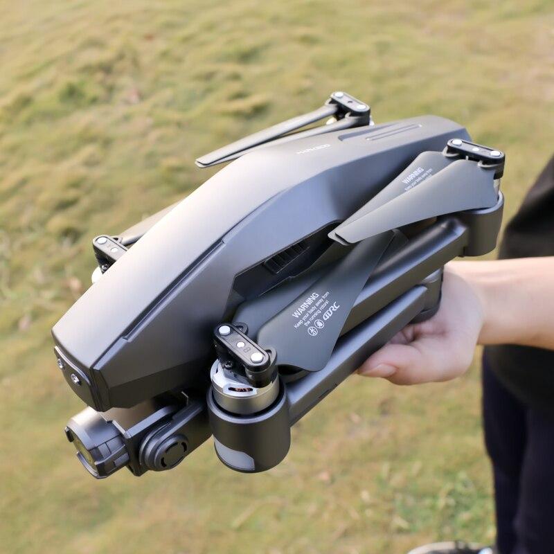 Zangão profissional de 5g wifi gps com 6k 4k 2 eixos câmera cardan rc distância 3km brushless auto estabilização quadcopter fpv dron