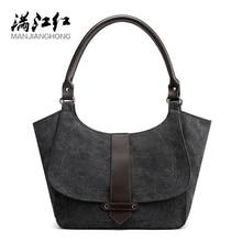 Ladies Hand Bag Tote Casual Bolsos Mujer Hobos Bolsas Feminina 2020 Canvas Bag Vintage Canvas Shoulder Bag Women Handbags