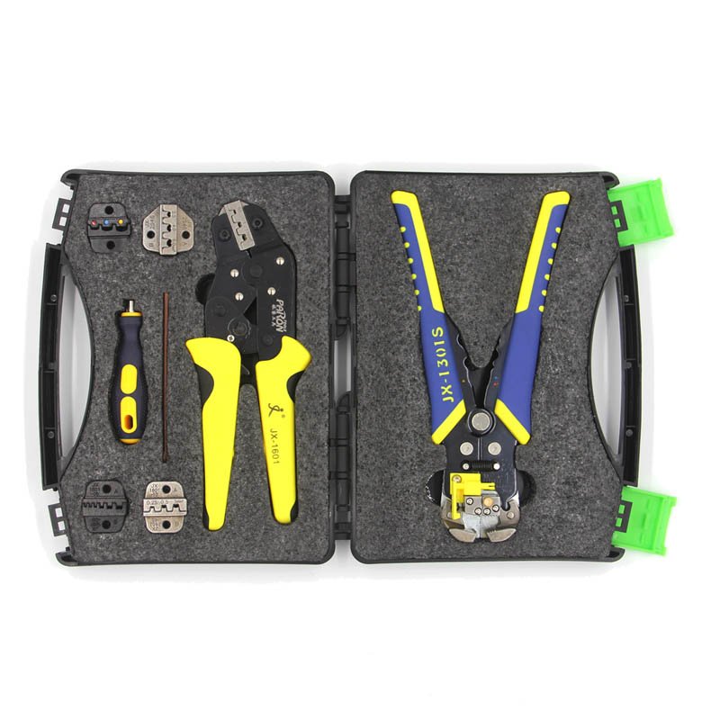 PARON Professional Wire Crimpers Multifunctional Terminal Crimping Pliers Wire Strippers Crimper Tool Terminals Pliers Kit