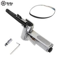 Linear 7100 10mm Pneumatic Tools Air Belt Sander Drawing Machine Polishing Grinding Die casting Tools with Sanding Belts