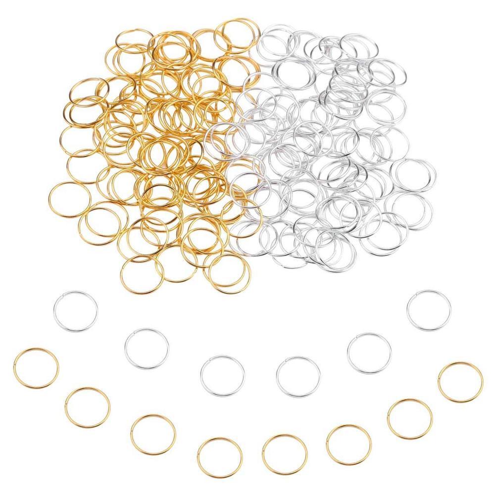 10Pcs Fabric Dreads Dreadlock Beads Hair Braid Cuff Clips Pendants 10mm Hole
