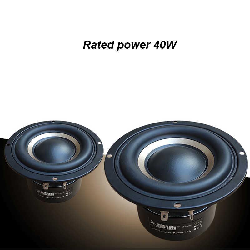 1 sztuk 4 cal HIFI głośnik subwoofer 4ohm 100W 4 warstwy cewka drgająca głośnik subwoofer 4 6 8 ohm T0958