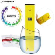 Цифровой карманный измеритель PH воды в виде ручки, тестер диапазона измерения 0,0-40% PH, тестер качества воды для питьевого бассейна и аквариум...