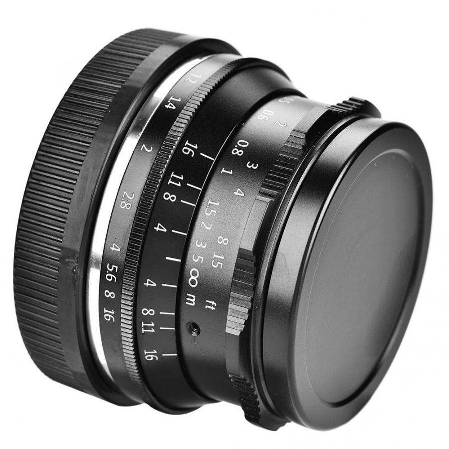 7Artisans 35mm F1.2 Lens Manual Fixed Focus For Canon Sony Fujifilm M4/3 Mirrorless Cameras