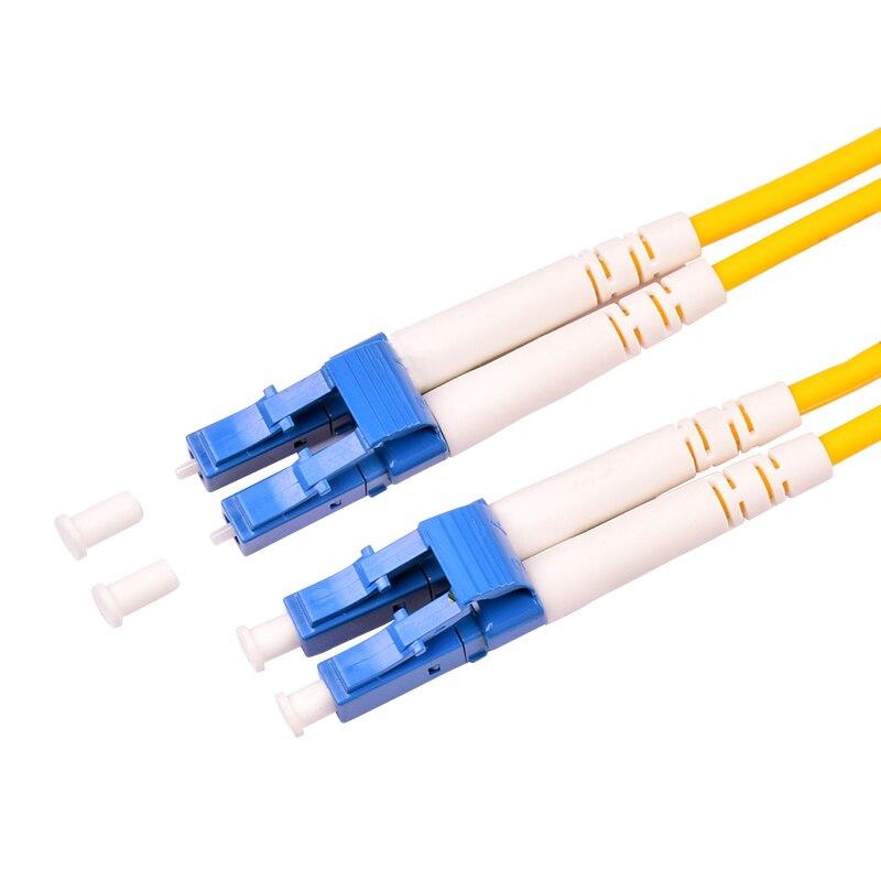 10 шт. LC UPC 3 метра/5 метров/10 метров 9/125 дуплексный одномодовый волоконно-оптический патч-корд кабель