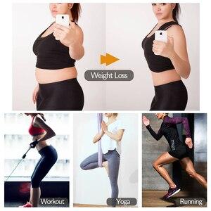 Image 5 - Kobiety gorset Waist Trainer Trimmer gorset Fitness pas wyszczuplający urządzenie do modelowania sylwetki odchudzanie Sauna pot sportowe pasy paski do przytwierdzania urządzeń modelowanie