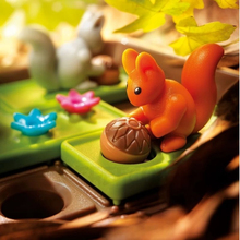 Squirrels Go Nuts Sliding Puzzle Travel Game for Kids Cognitive Skill Brain Game for Ages 6 60 Challenge in Travel Friendly Case