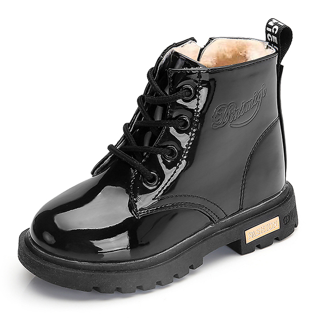 Patent Leather Boots 5