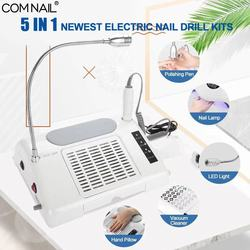 5 IN 1 Newest 96W UV LED Nail Lamp Nail  Dryer Vacuum Cleaner Nail Dust Collector Machine Nail Drill Powerful Nail Salon Tools