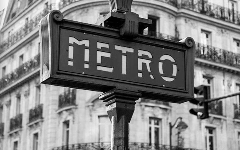 Парижская архитектура Современная рамка настенная живопись для
