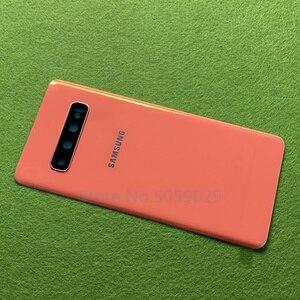 Image 5 - Dành Cho Samsung Galaxy Samsung Galaxy S10 Plus S10 + G9750 S10 G9730 S10e G970 Lưng Pin Cửa Nhà Ở + Camera Sau kính Gọng Kính