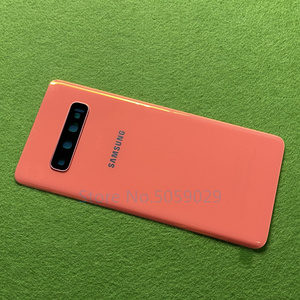 Image 5 - For Samsung Galaxy S10 Plus S10+ G9750 S10 G9730 S10e G970 Battery Back Cover Door Housing + Rear Camera Glass Lens Frame
