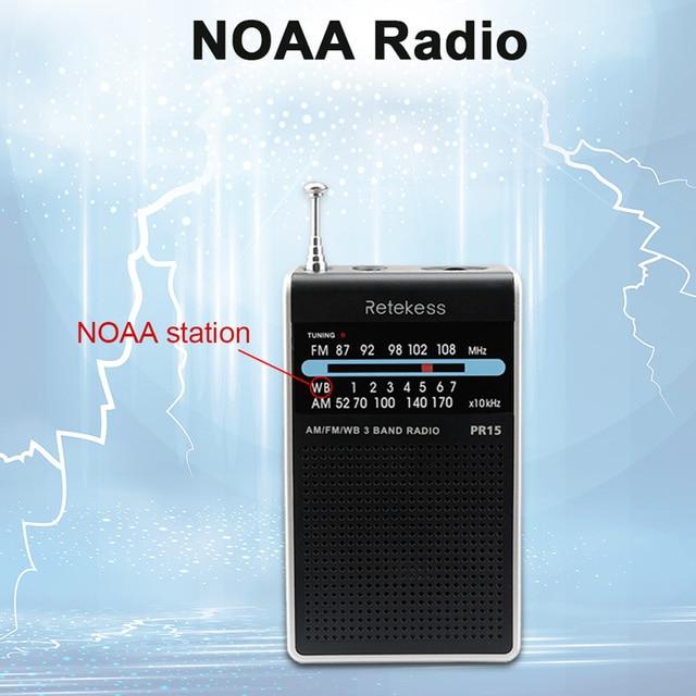 Радиоприемник RETEKESS PR15 AM/FM