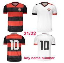 Camisa de fútbol com nome personalizado, 2021, 2022, vitória, bahía casa longe, 20, 21
