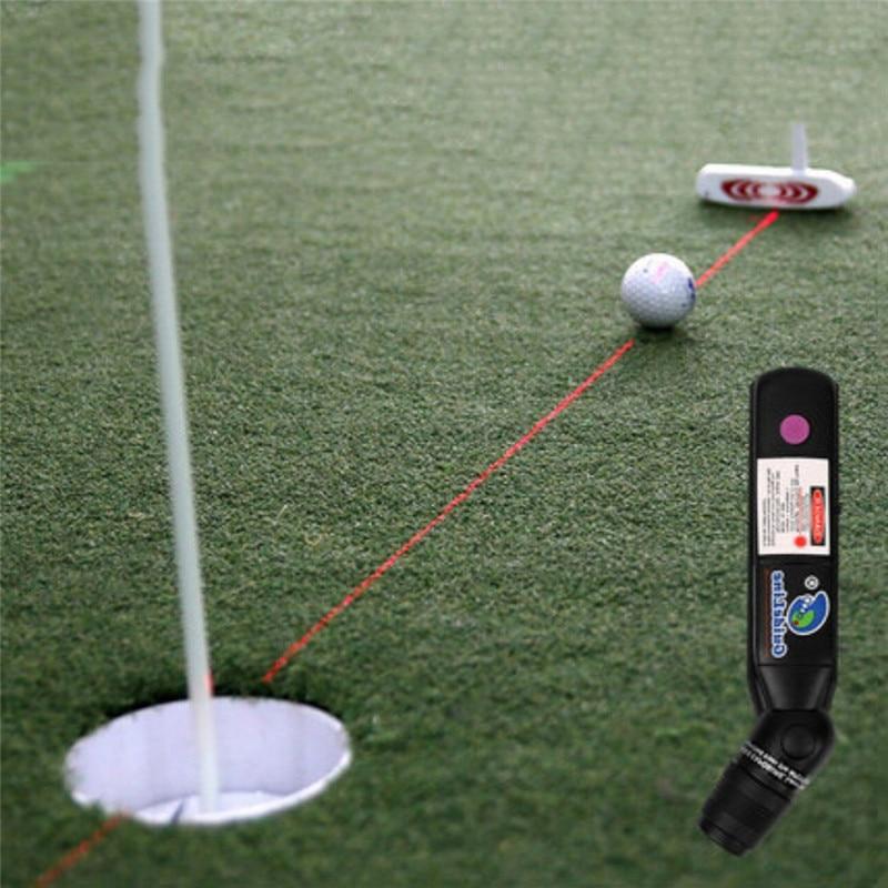 Golf Putter Laser Sight Indoor Teaching Putter Aim Putt Help Practice 1