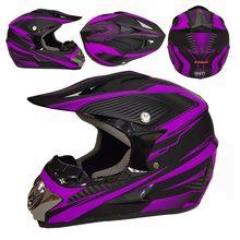 Off-rodo capacete de motocross downhill racing montanha rosto cheio capacete pequeno leve fora de estrada capacete