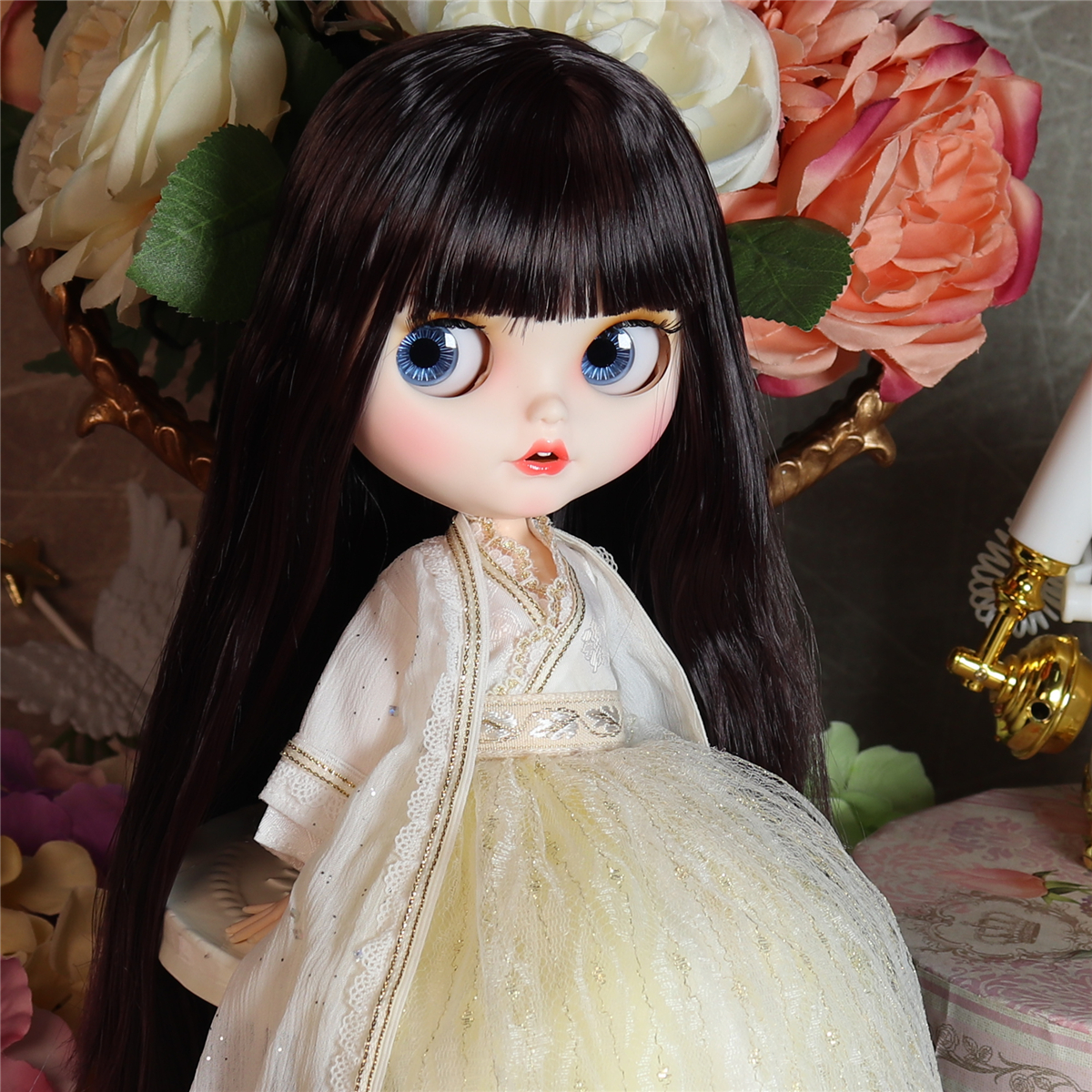 Jacey – Premium Custom Blythe Doll with Smiling Face 3