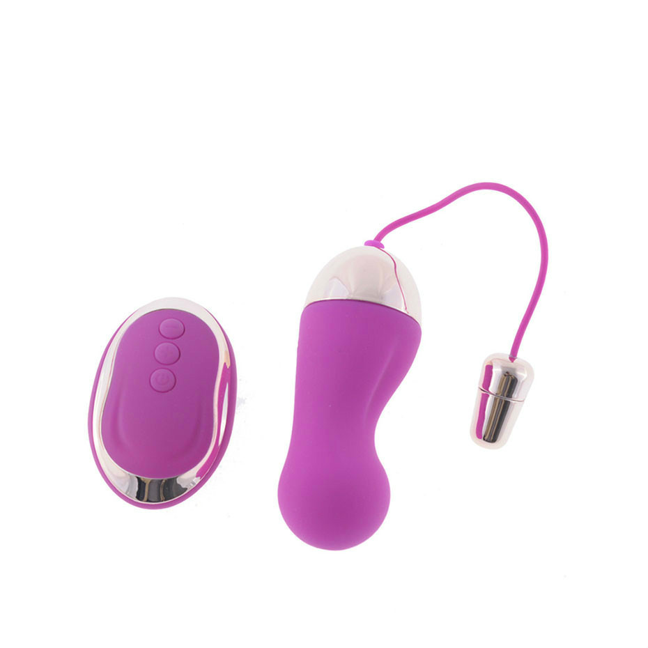 10 Speed Wireless Remote Control Vibrating Bullet Vibrator USB Rechargeable Love <font><b>Eggs</b></font> <font><b>Sex</b></font> <font><b>Toys</b></font> Products for Women Vagina Machine image