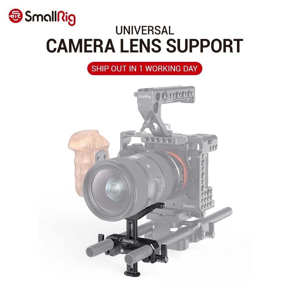 SmallRig DSLR Camera Lens Adapter Adjustable 15mm LWS Universal Lens Support For Long Lens Support Camera Rig 2681