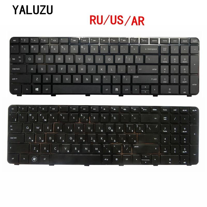 RU/US/AR для HP Pavilion DV7-6100 DV7-6200 DV7-6000 639396-251 634016-251 Русская клавиатура для ноутбука