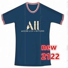 Camisa de alta qualidade dos homens 20 21 22 de neymar jr camisa mtappe verratti marquinhos kimpbe de maria draxler kurzawa 2022 psges