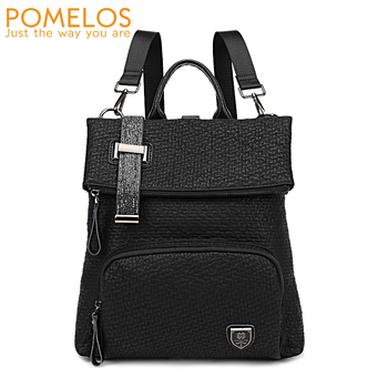 POMELOS Women Backpack Fashion Ladies Backpack Female For School Teenage Girls High Quality Synthetic Leather Travel Backpack