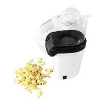 Popcorn Machine Hot Air Popcorn Popper + Popcorn Maker wtih Measuring Cup to Measure Popcorn Kernels + Melt Butter   White(EU Pl|Popcorn Makers| |  -