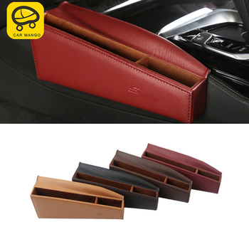 CAR MANGO for BMW G30 5 Series 2018 Auto Car Styling Front Seat Storage Organizing Box Case Interior Accessories Stowing Tidying
