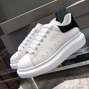 Luxury Designer Alexander Shoes Women High Platform Brand Female White Sneakers Casual Couple Shoes Men and Women Zapatos ER35