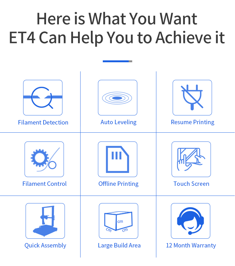 Anet ET4 3D Printer (1)