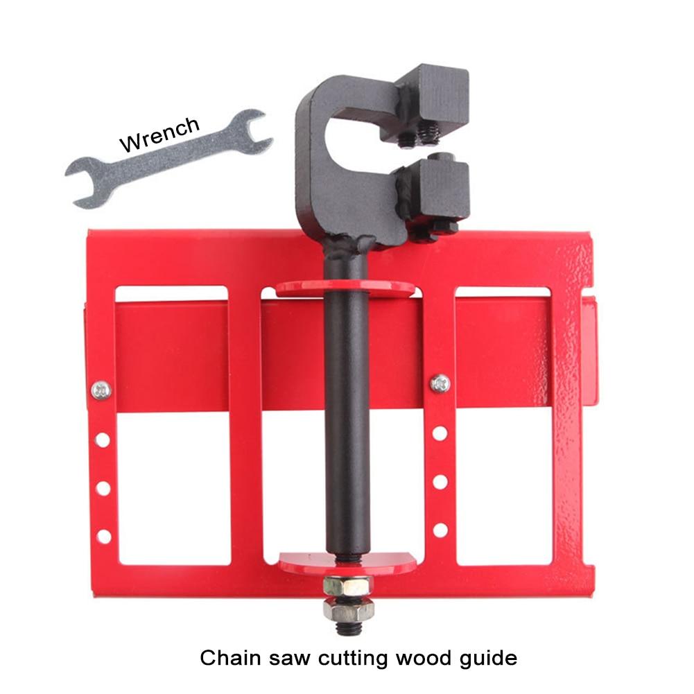 Guia de corte de madeira serrada motosserra